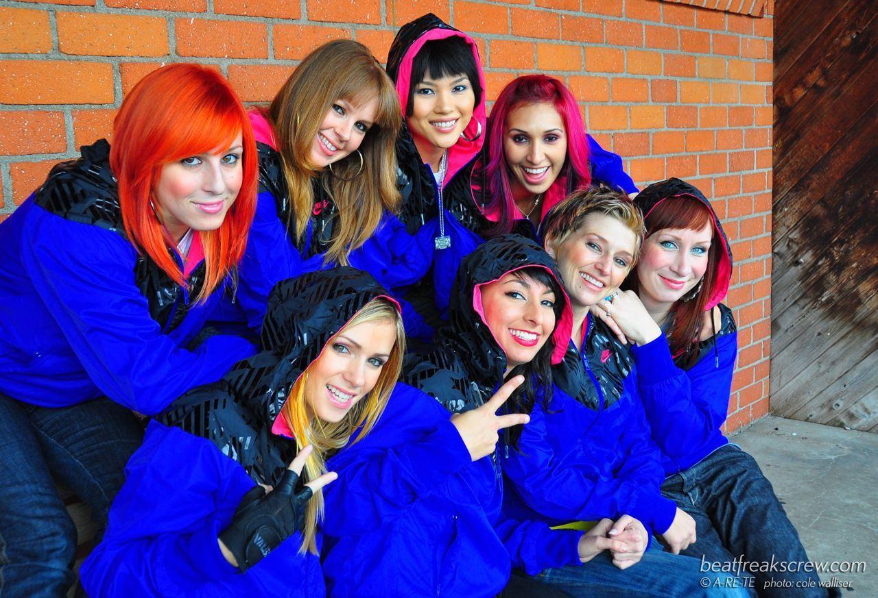 Beat Freaks From ABDC Awesome Hip Hop Ladies