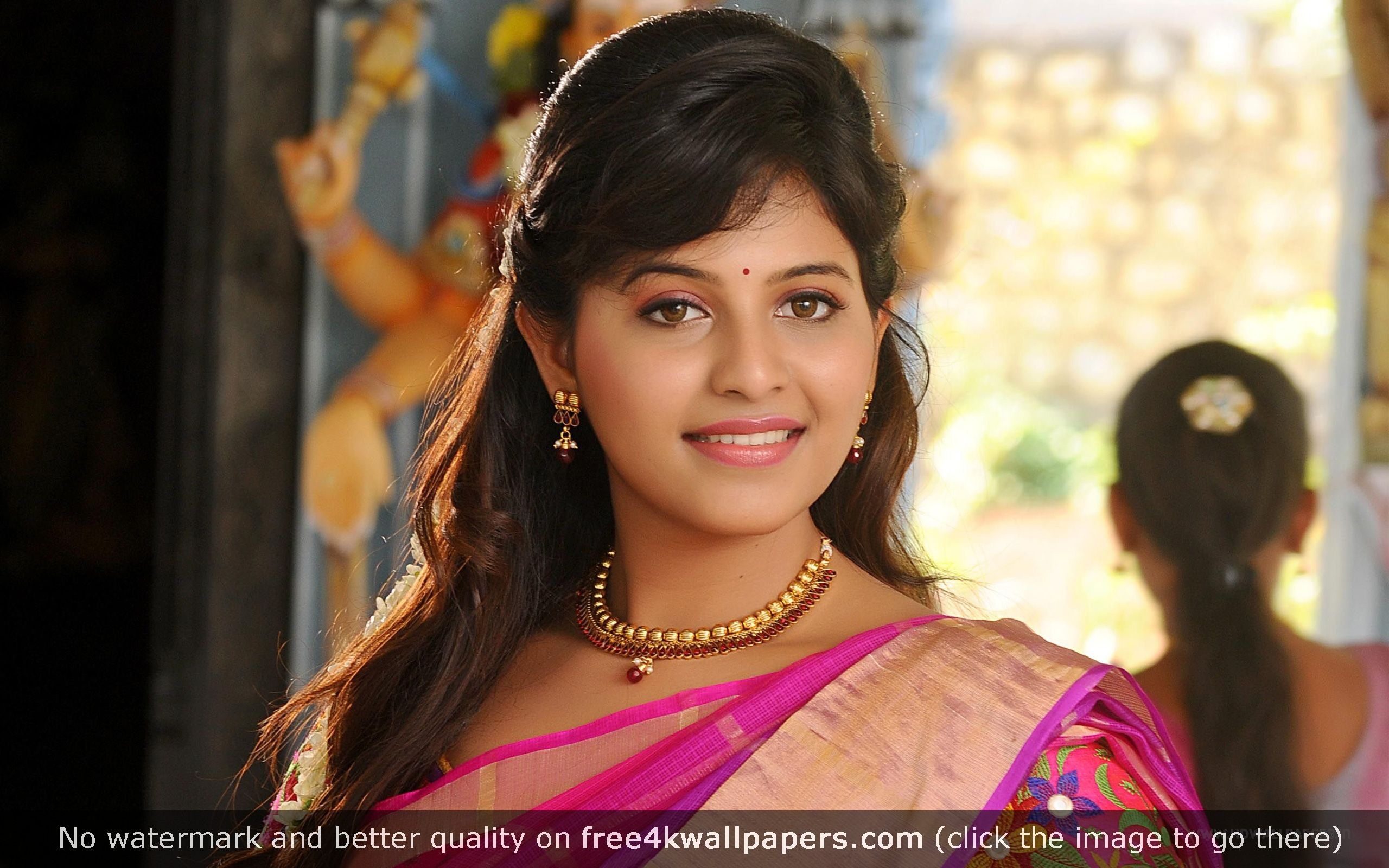 Anjali Tamil Actress HD Wallpaper
