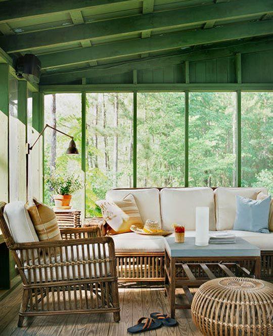 Design 101 Bamboo Enclosed Porch Home Infatuation Blog