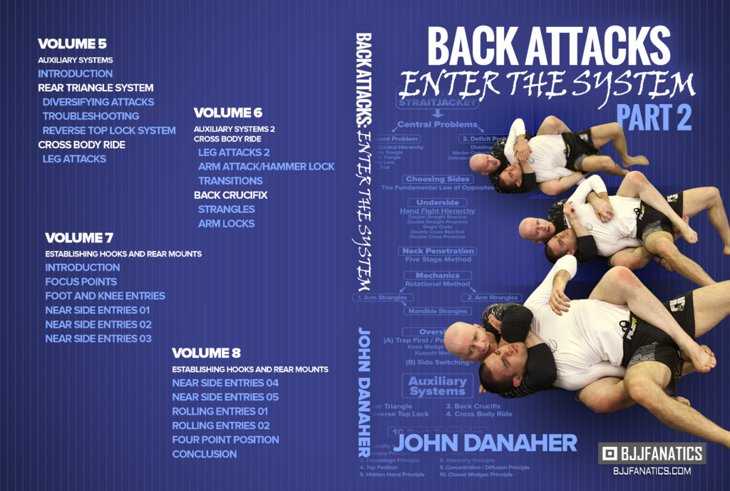 Back Attacks Enter The System by John Danaher | Fight Game