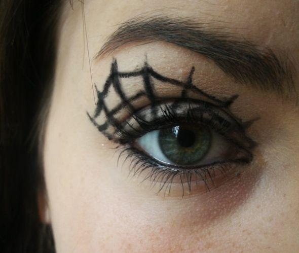 great make up idea( Make-Up \u003c3 Pinterest Spider webs - halloween horror makeup ideas
