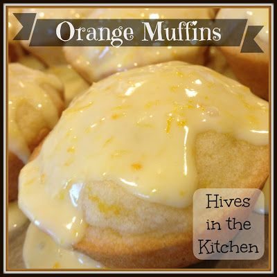Hives in the Kitchen: Allergy Free Orange Muffins