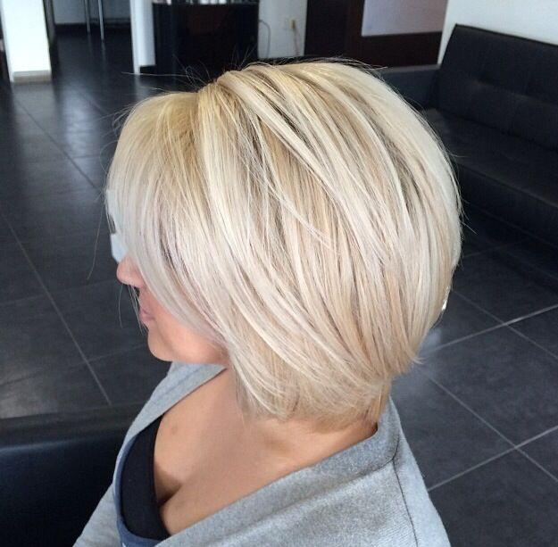 Platinum Blonde Bob Hair Hair Styles Blonde Hair Hair Cuts