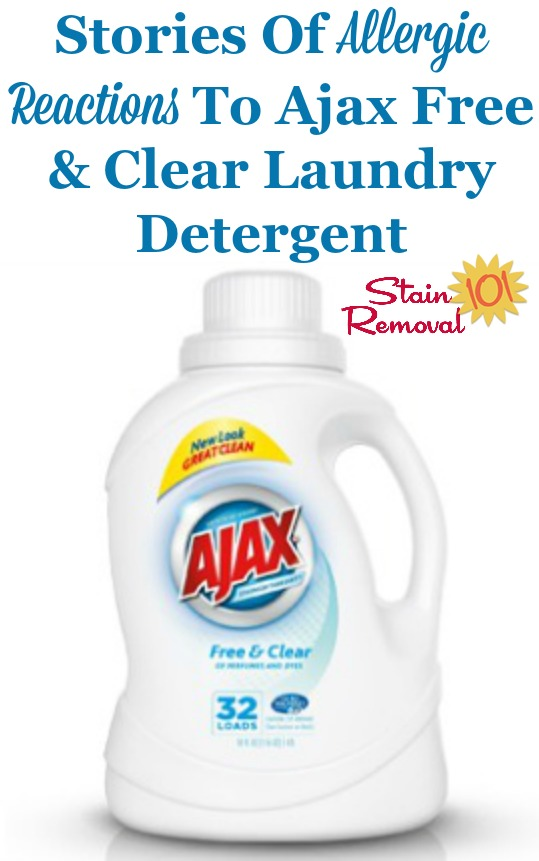Ajax Free Clear Laundry Detergent Reviews Laundry Detergent