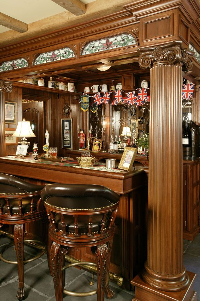 English Pub, Entertainment Rec Rooms, Home Decor