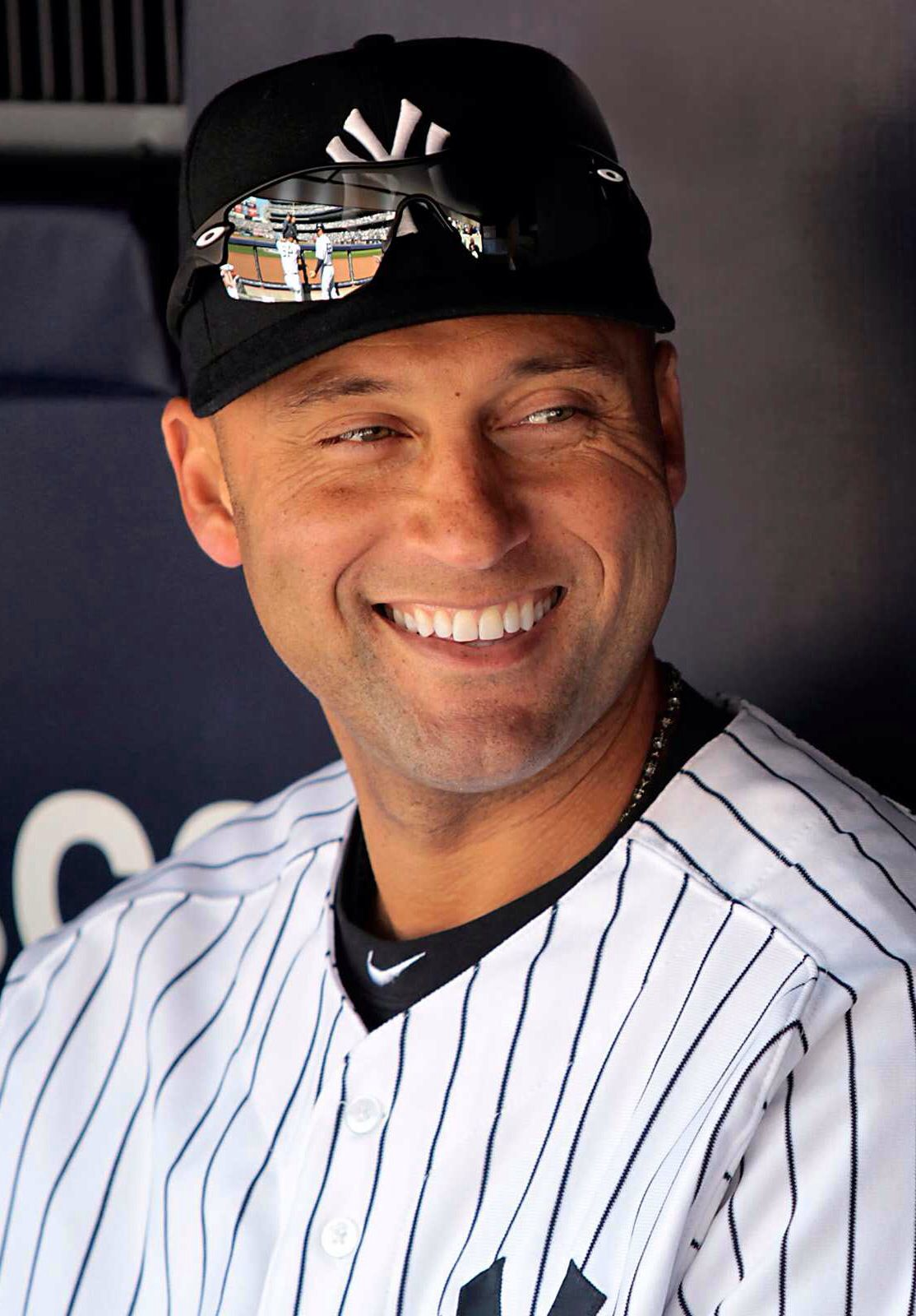 Derek Jeter New York Yankees Former Little Leaguer From Kalamazoo His Parents Were Honored By Little League Basebal Derek Jeter New York Yankees My Yankees