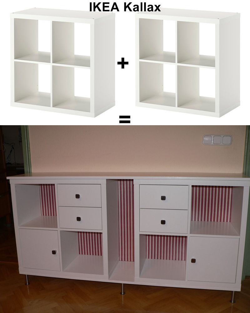 Ikea kallax hack new furniture for our dining room - Ikea etagere kallax ...