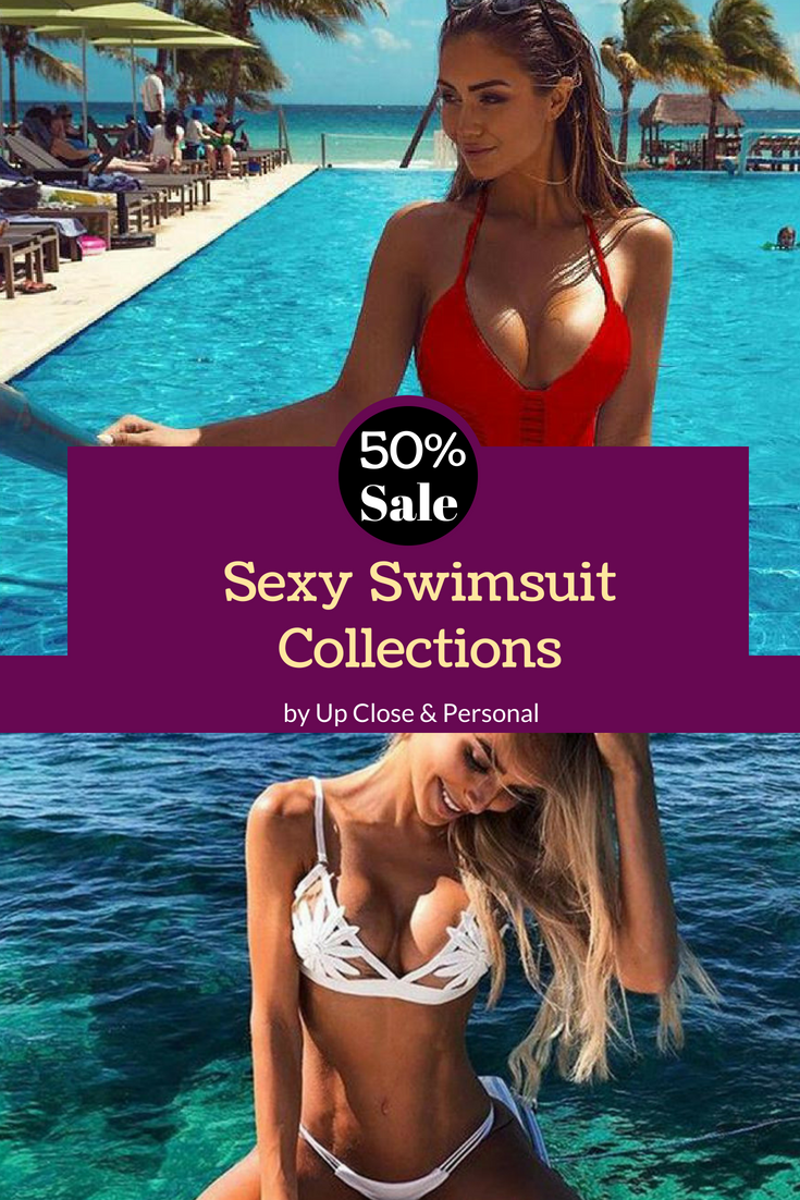 44f5c26c6cd 50% off on Sexy swimsuits collections on Up Close & Personal! | SHOP ...