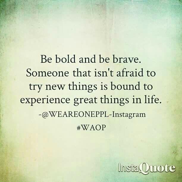 #Bold #Brave #Life #Positive #Message #Lesson #WAOP