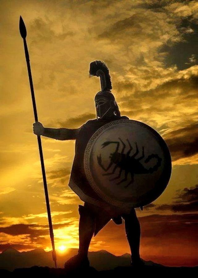 ❦ The Spartan king Leonidas died defending Greece from the Persians at the legendary Battle of Thermopylae. Ο  Σπαρτιάτης βασιλιάς Λεωνίδας πέθανε υπερασπίζοντας την Ελλάδα από τους Πέρσες στη θρυλική μάχη των Θερμοπυλών.