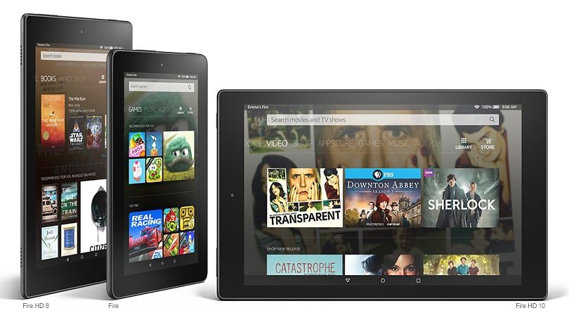 Amazon Introduces $50 Fire Tablet