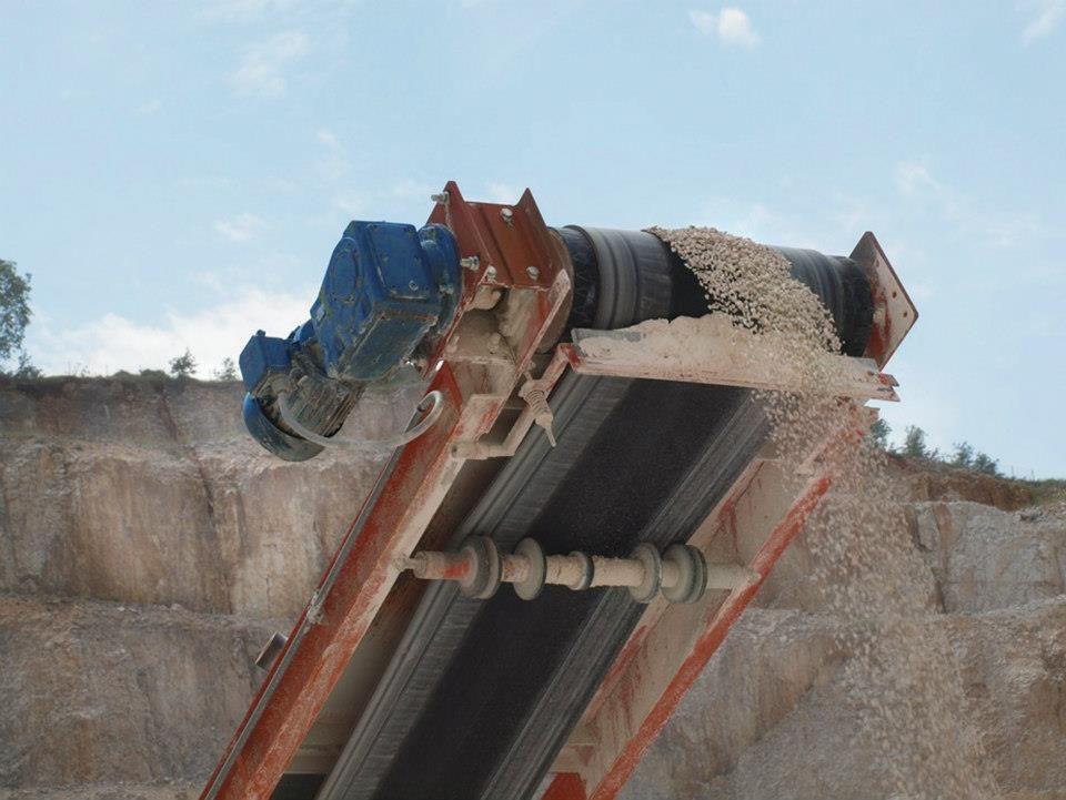 Pin On Bulk Handling Conveyors