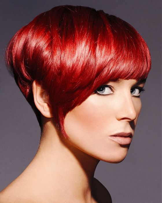 perücke rote kurze haare - madame frisuren