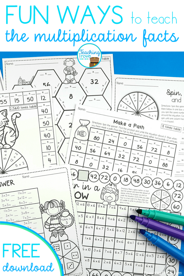 Engage and motivate with multiplication activities that are fun engage and motivate with multiplication activities that are fun gamestrikefo Gallery