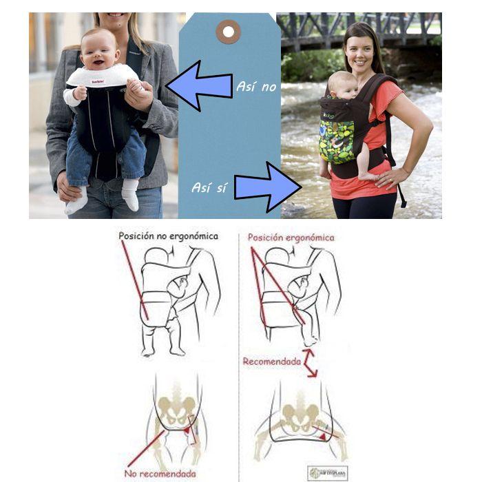 Resultado de imagen de porteo ergonomico