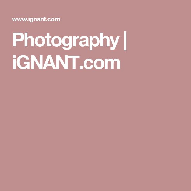 Photography | iGNANT.com