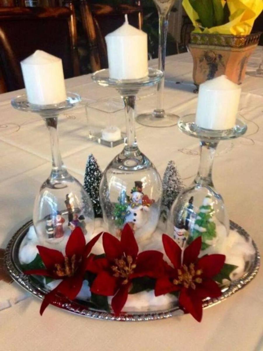 Best Creative Diy Christmas Table Centerpieces Ideas 22 Christmas Table Centerpieces Diy Christmas Table Xmas Table Decorations
