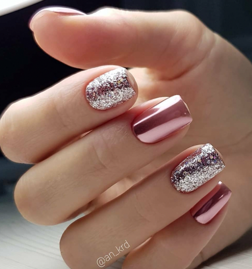 75 Trendy Natural short square nails design to light up