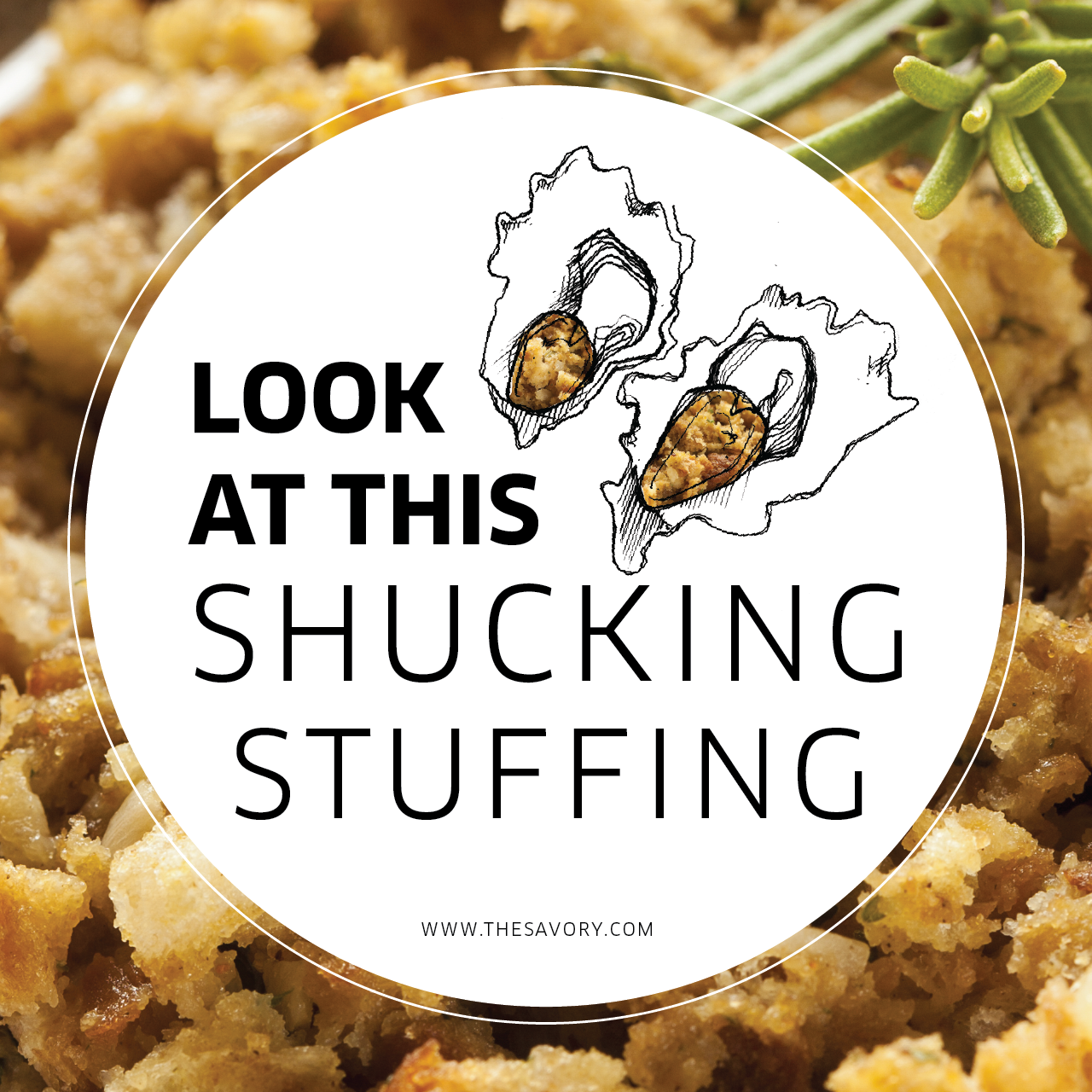 Oyster Dressing Recipe #thanksgiving #stuffing