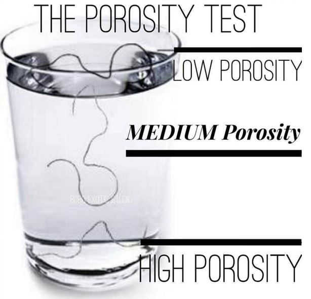 If you don't know whether you have low, medium or high porosity hair, you may be stunting your growth and the health of your hair. Responding effectively to your hair's needs also depends on knowing how to best deliver those needs to it. You can't do that without an understanding of how porous your hair …