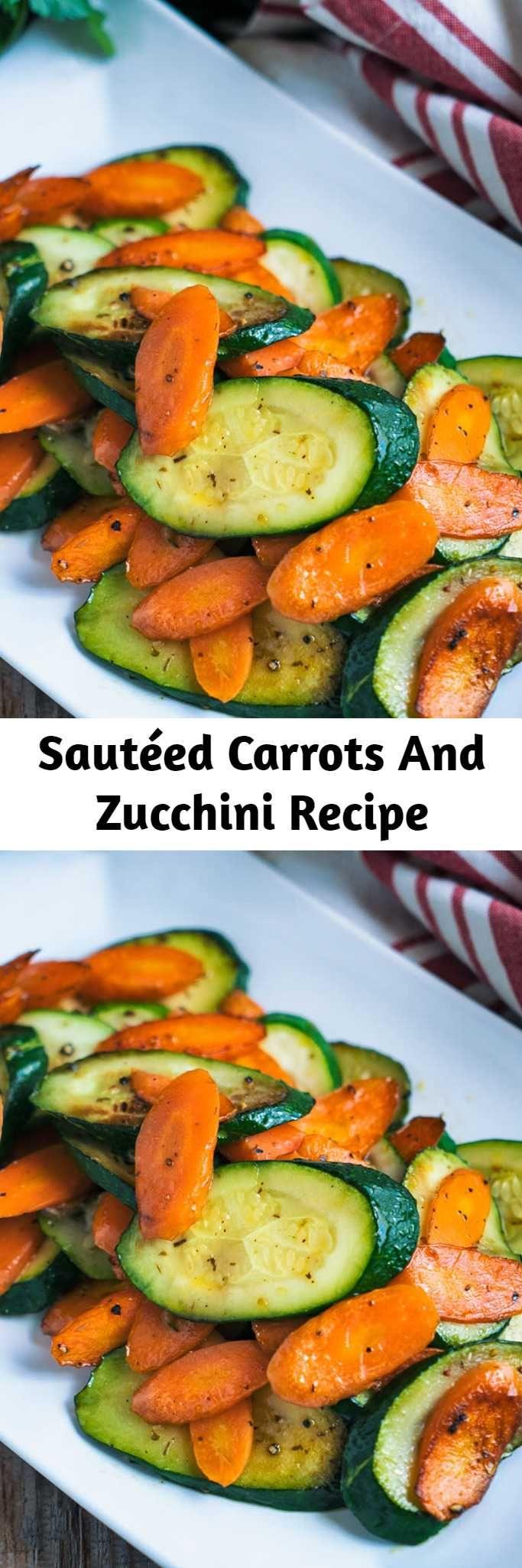 Sautéed Carrots And Zucchini Recipe