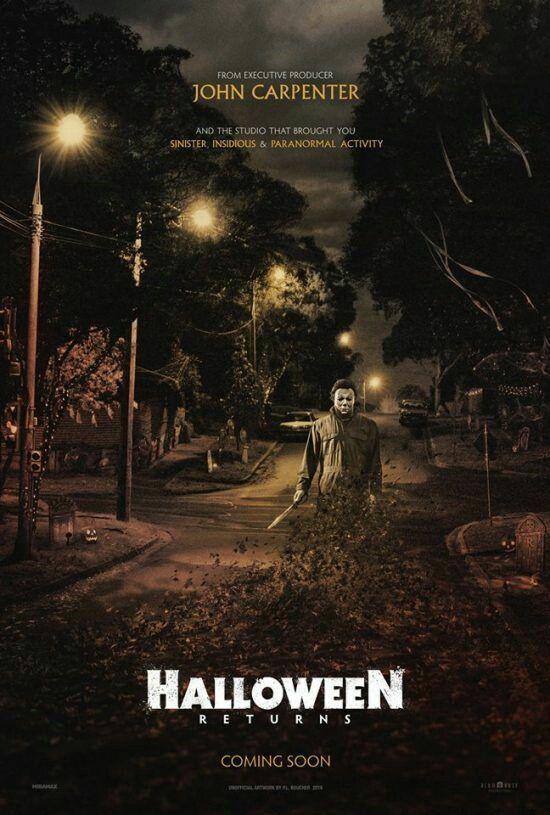 Halloween Returns movie poster | □POPKORN | Pinterest | Movie ...
