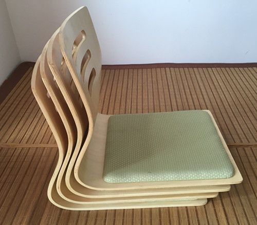 (4pcs/lot)Japanese Legless Chair Seat Cushion Asian Traditional Furniture  Living Room Floor