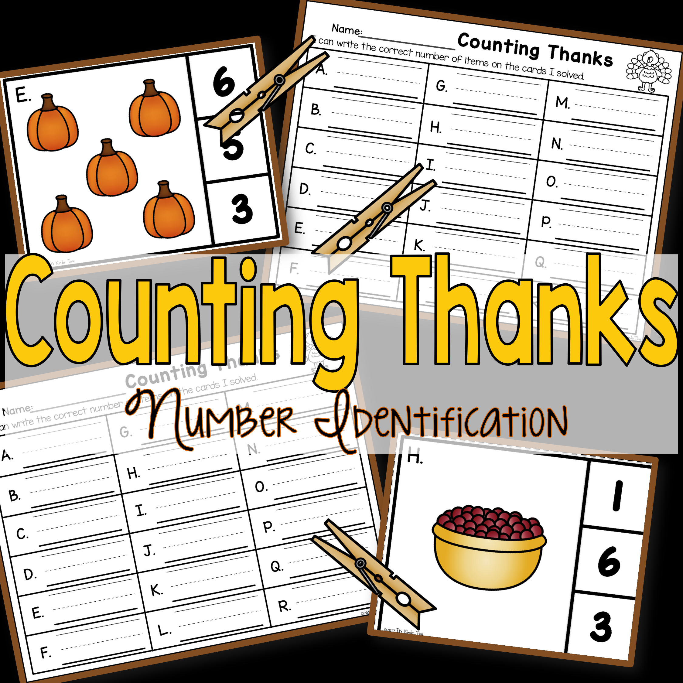 Counting Thanks