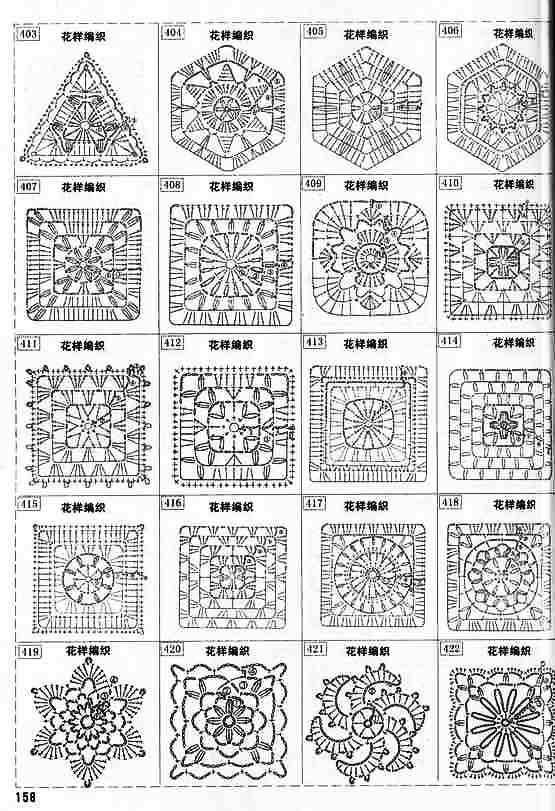 Patrones de mantel o manta a cuadros de crochet Ideas de ...
