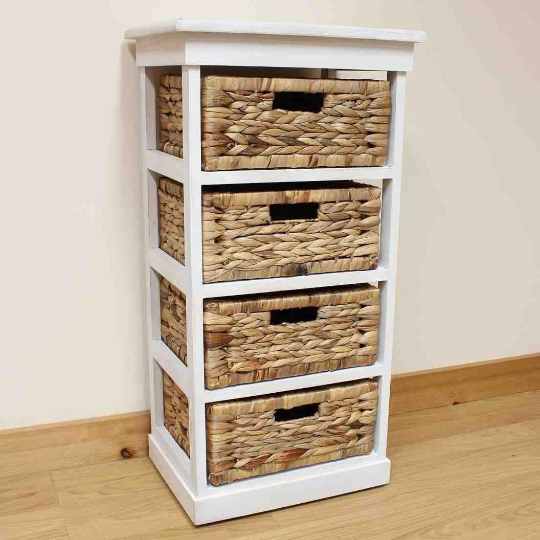 Wicker Storage Shelves Wicker Baskets Storage Wicker Bathroom