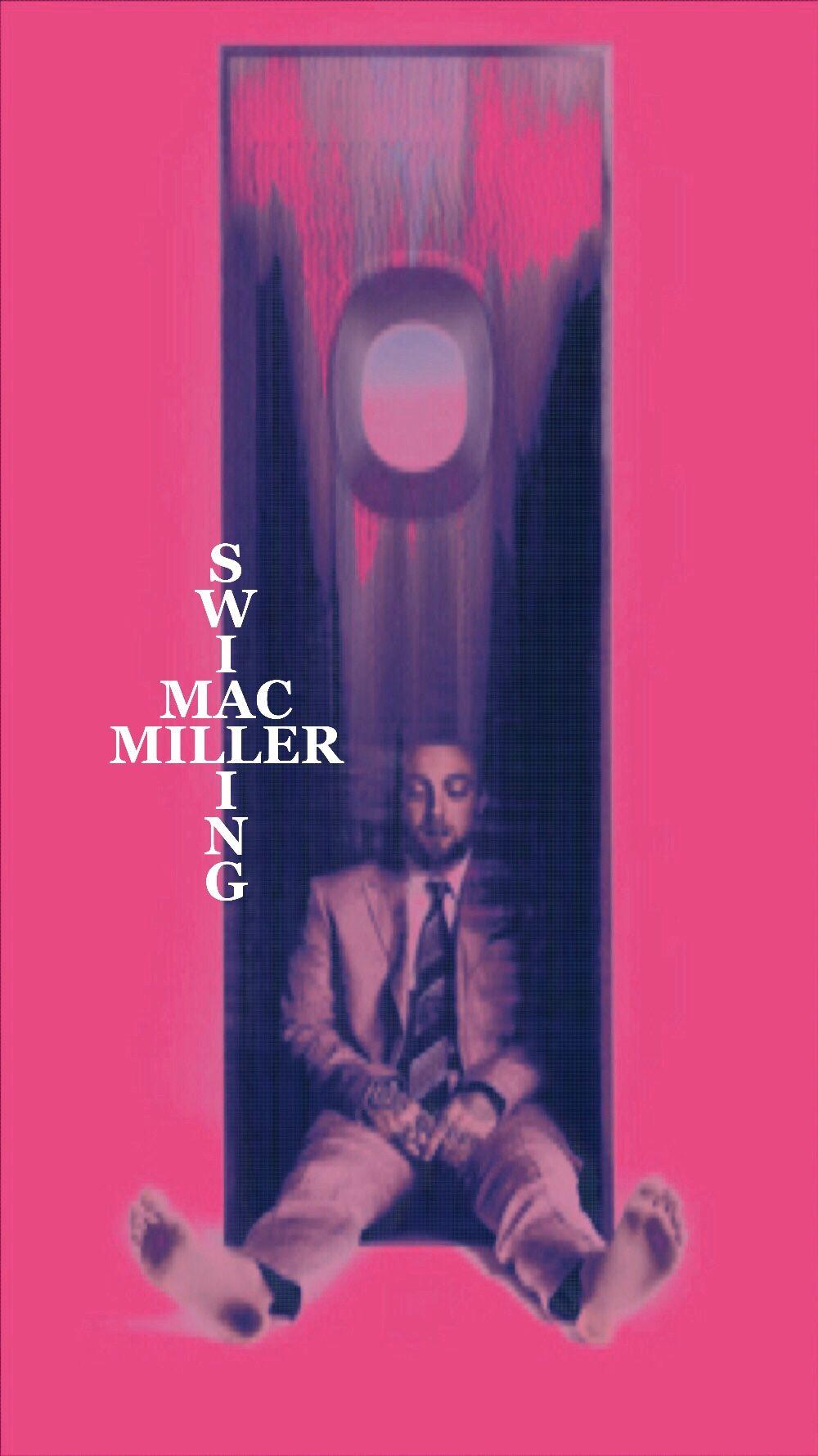 Macmiller Swimming Mac Miller Pastel Pink Aesthetic Pink Aesthetic