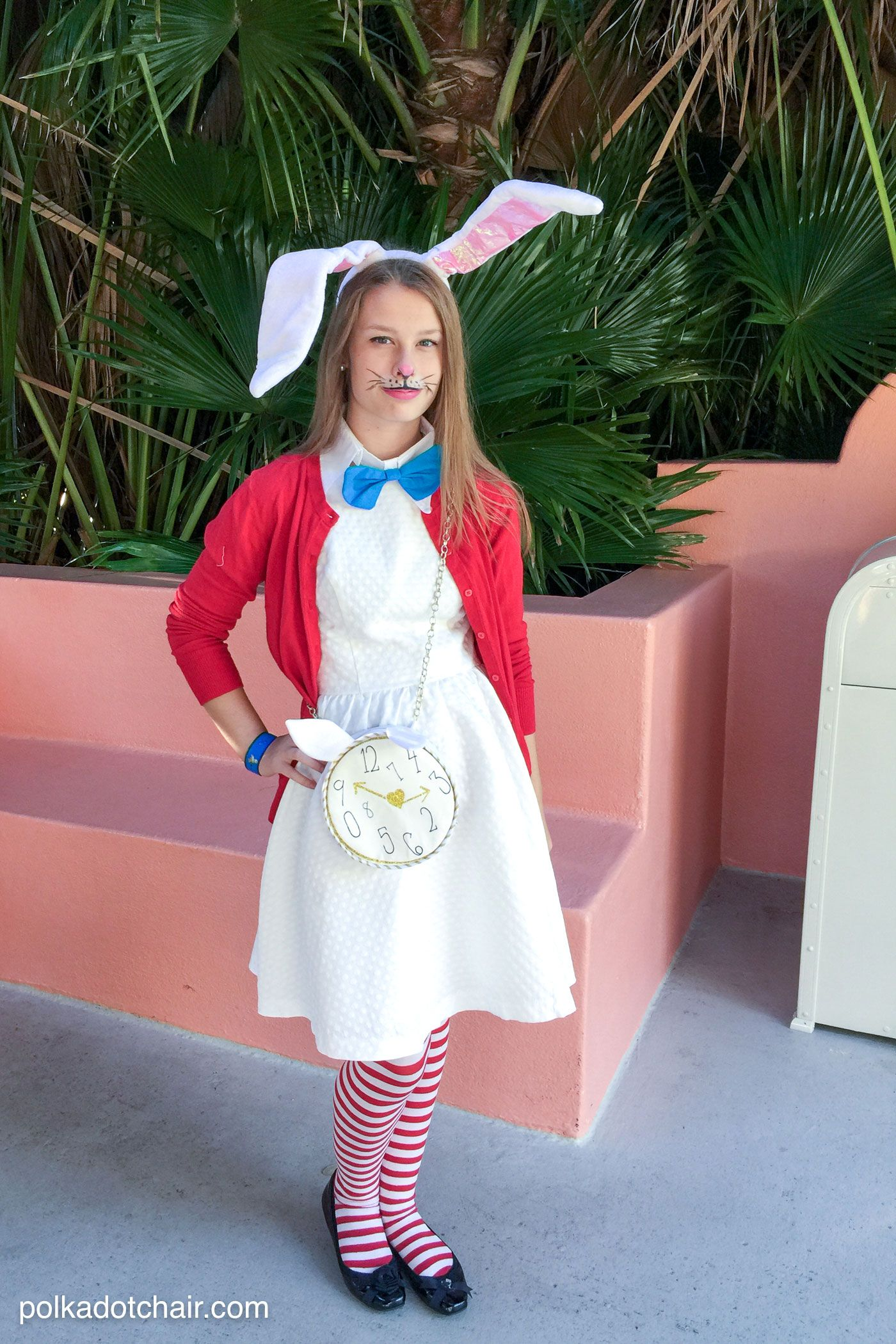 No Sew Family Alice In Wonderland Costume Ideas Polka Dot Chair Disney Costumes Diy Alice In Wonderland Costume Easy Disney Costumes