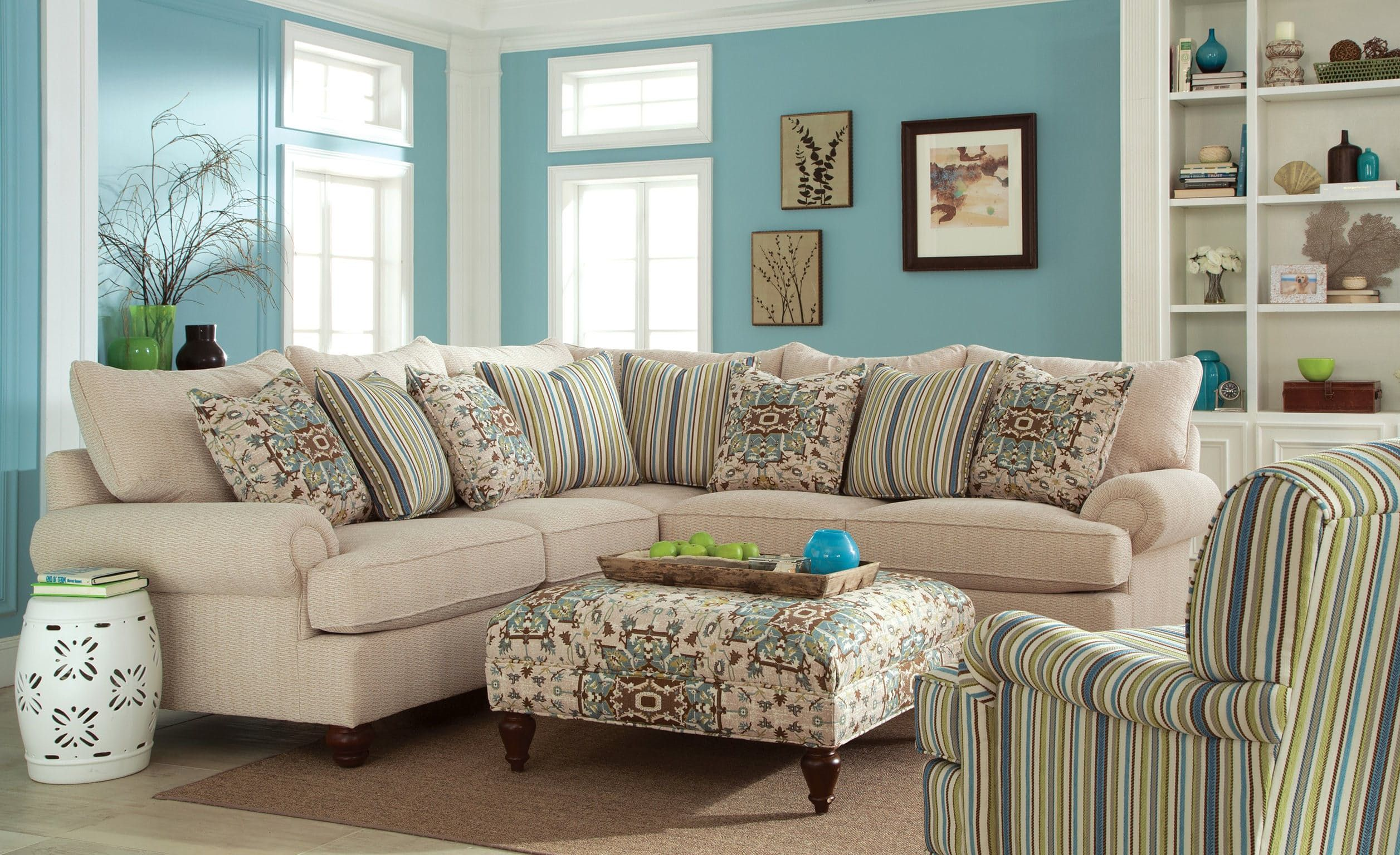 Craftmaster Living Room Sectional 7970 SECT   China Towne Furniture    Solvay, NY |