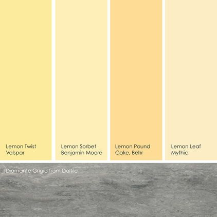 Suggested Yellow Paint Picks While Not Quite Pastels These Yellows Are Soft Enough To