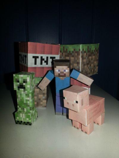 I år ville go gutten min ha Minecraft bursdag. Alle gutta i klassen skulle bli bedt og de skulle ...