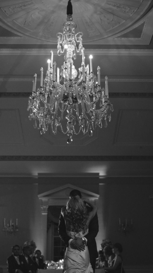 new arrivals 00d49 028bd Romantic first dance under the chandelier #lovetthall ...