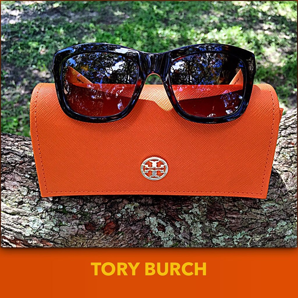 9d8e43195981 Feel the  sunshine this  labordayweekend These tortoise shell  toryburch  sunglasses are only  75