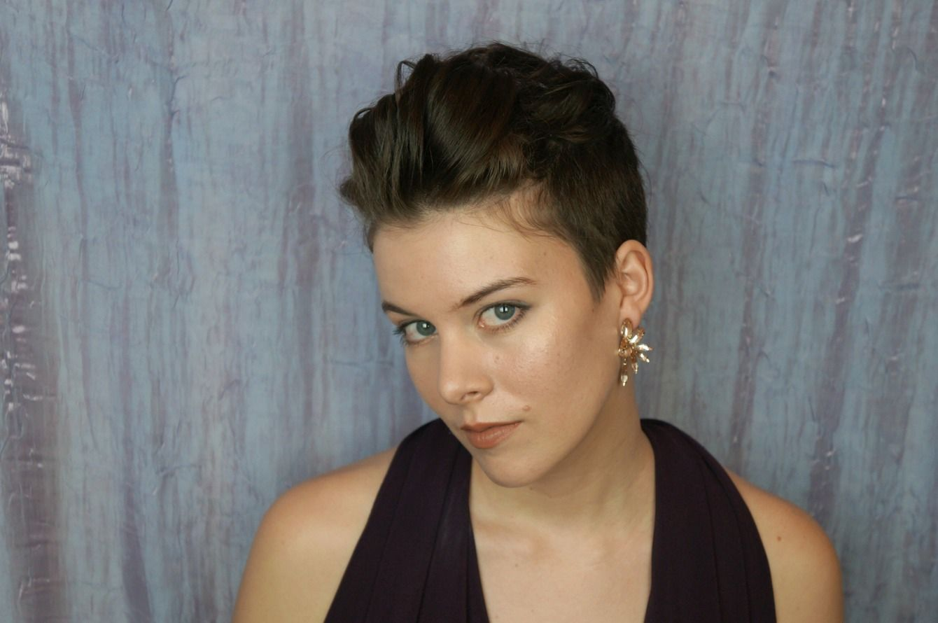 how to style your pixie cut for prom   maybe i'll get a