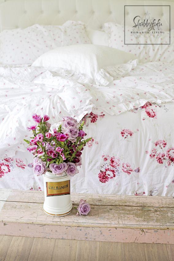 Beautiful Shabby Chic Linen (rosenbettwäsche) - Learn more at - schlafzimmer im shabby chic wohnstil