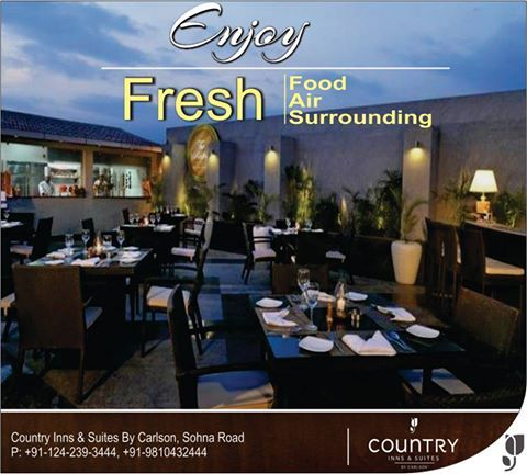 Enjoy Freshness All Around Us When You Visit Our Hotel Countryinnsuites Sohnaroad