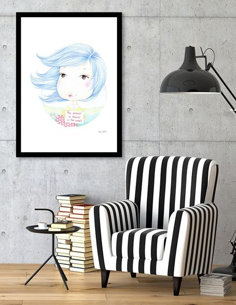 Discover «Windy», Exclusive Edition Fine Art Print by iMaya - From $29 - Curioos