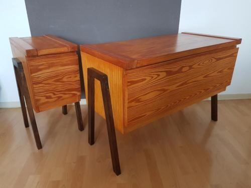 Retro Kommode 60er 70er Vintage Sideboard Schrank DESIGN Regal in ...