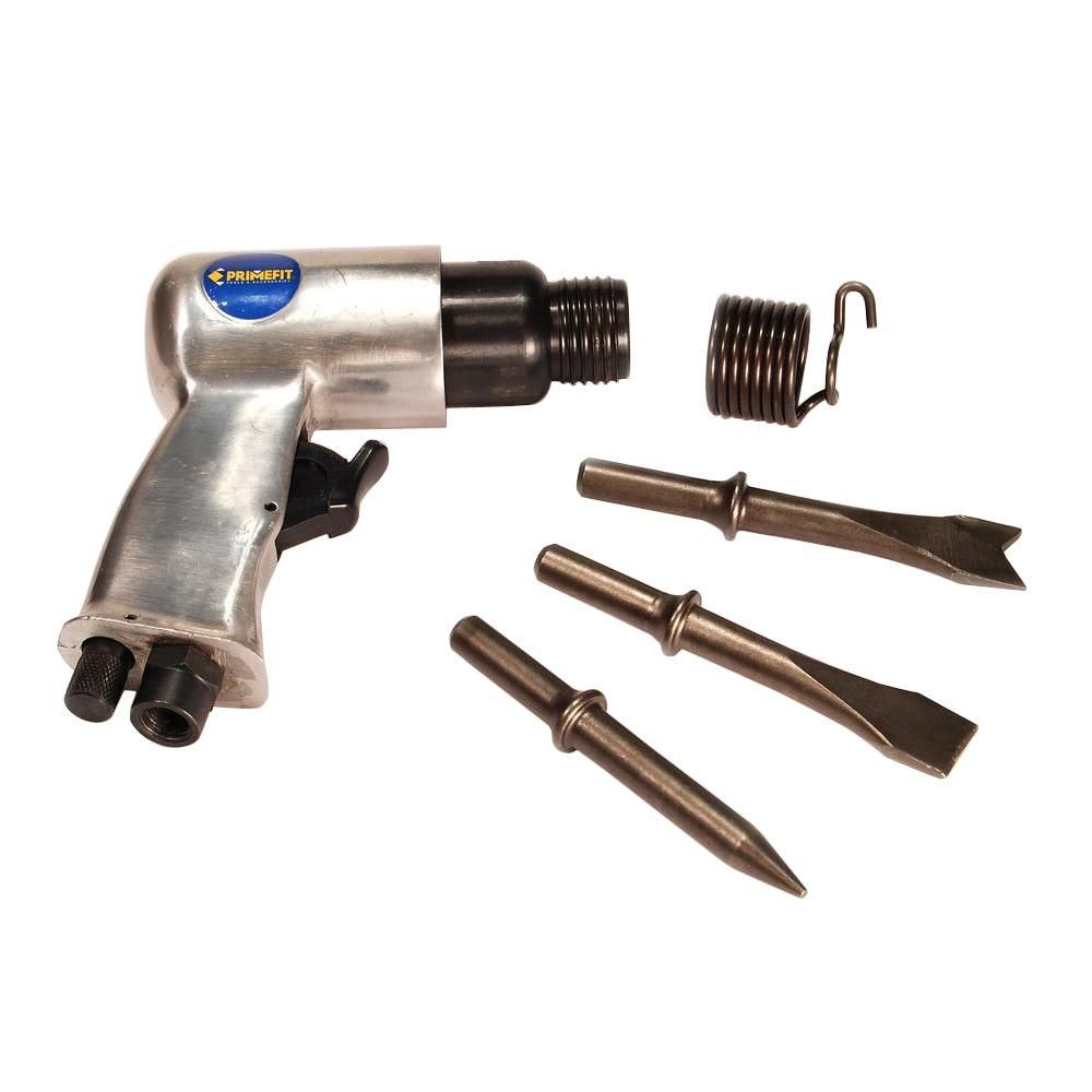 Air Hammer And Chisel With 3 Chisel Bits Air Hammer