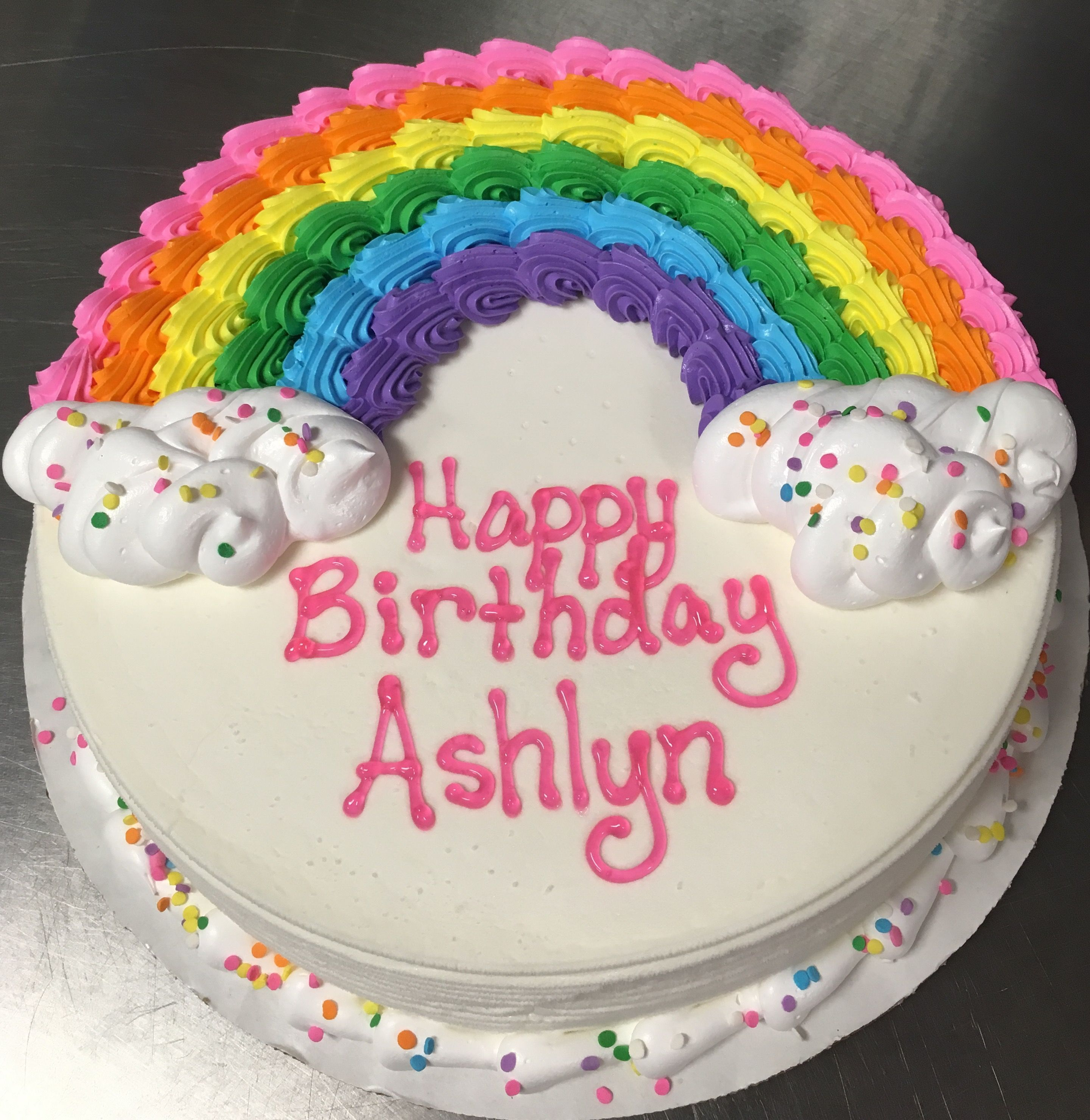 Awesome Image Result For Rainbow Birthday Cake Ideas With Images Round Funny Birthday Cards Online Hendilapandamsfinfo