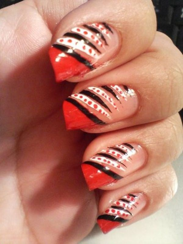 Red Nail Art Designs 31 55 Hottest Ideas 3