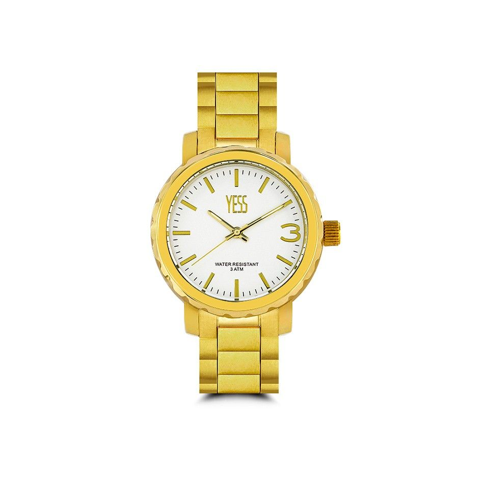 5f8f161dbe11 Yess.com - Relojes RELOJ MUJER ELEGANTE BISEL COLOR DORADO