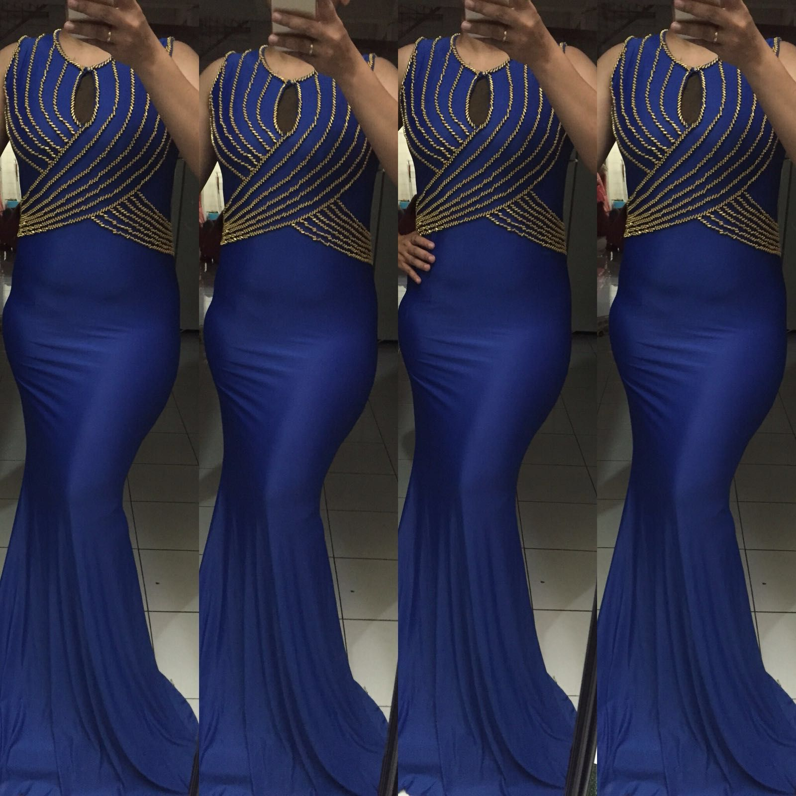 Ladies Long Kaftan Blue Spandex Dress Online Sale //Price: $140.81 & FREE Shipping //    #fashiongirl #fashionlovers #fashionmodel #outfit