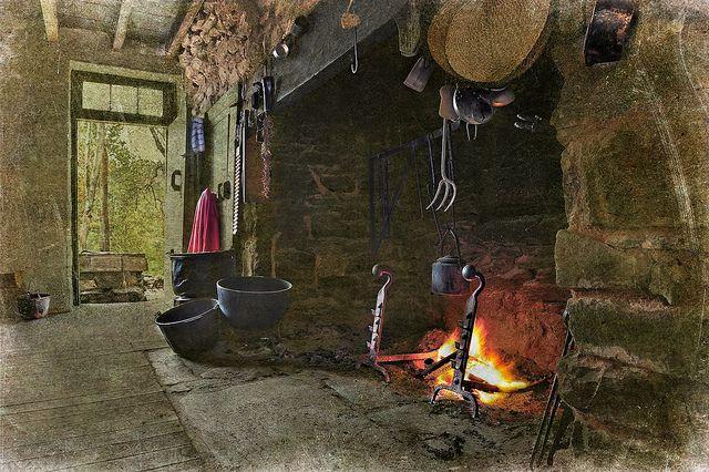 American Colonial Era Fireplace 18th Century Fireplace