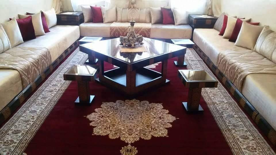salon marocain 2018 expert decorator decoration salon. Black Bedroom Furniture Sets. Home Design Ideas