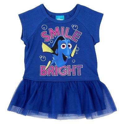 Toddler Girls' Finding Dory Top And Bottom Set Blue 5T, Toddler Girl's
